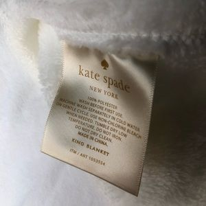 Kate Spade King Sized Blanket